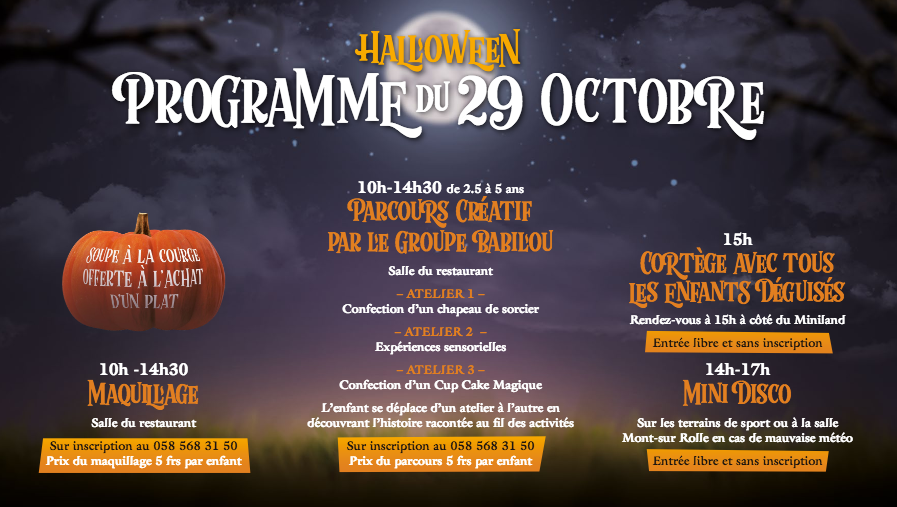 Halloween for kids geneva 2017