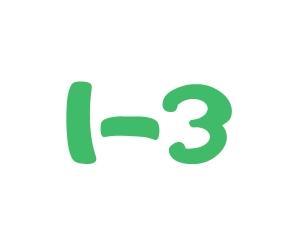 1-3 icon