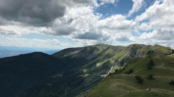 Col de la Faucille in summer