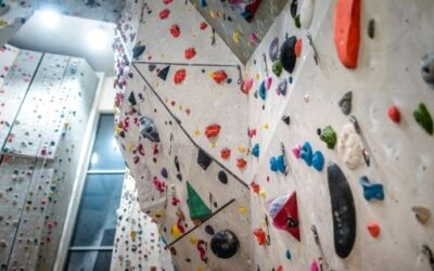 Climbing in Geneva for kids