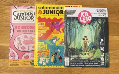 The three best Swiss magazines for kids